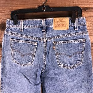 Levi's 550 ORANGE TAG Relaxed Fit Husky Jean 33x28
